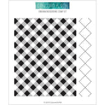 Gingham Background 6x6 Clear Stamps