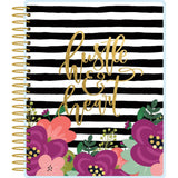 Mommy Lhey Hustle Spiral 12-Month Undated Planner
