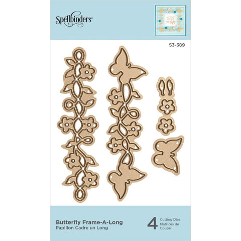 Butterfly Frame-A-Long Etched Dies