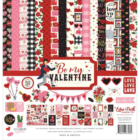 Be My Valentine 12x12 Collection Kit