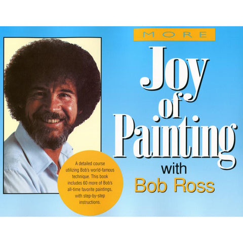 Bob Ross Books (More Joy Of Painting)