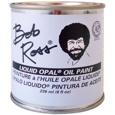 Bob Ross Oil Paint Base Coat 8oz (Liquid Opal)