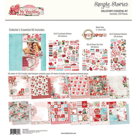 Simple Vintage My Valentine Collector's Essential Kit