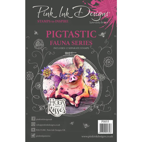 Pigstatic Clear Stamp Set