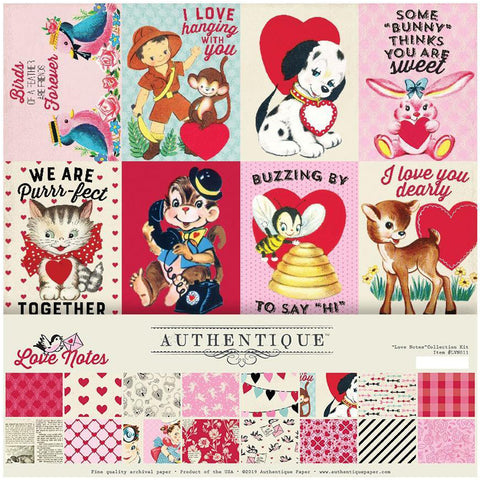 Love Notes 12x12 Collection Pack