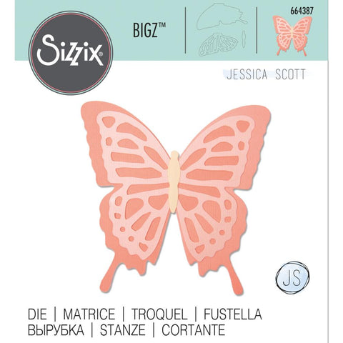 Jessica Scott Layered Butterfly Bigz Dies