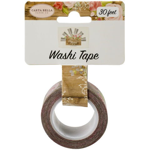 Farmhouse Market Farmhouse Floral Washi Tape