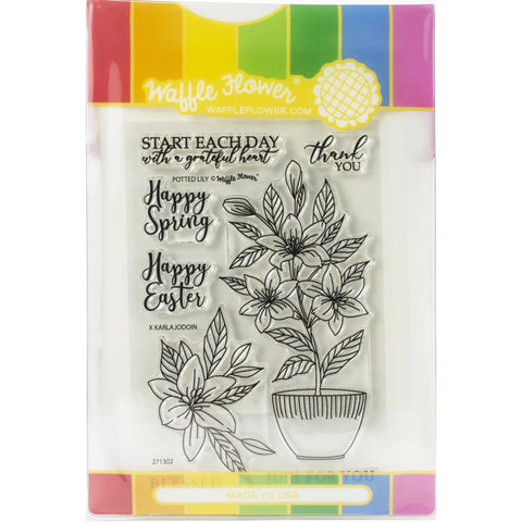 Potted Lily Stamp & Die Set
