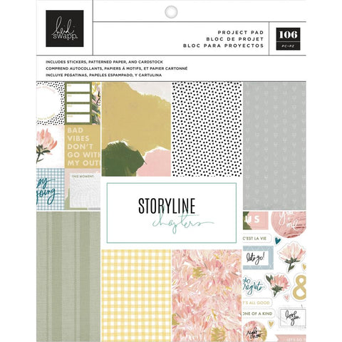 Storyline Chapters The Planner Project Pad