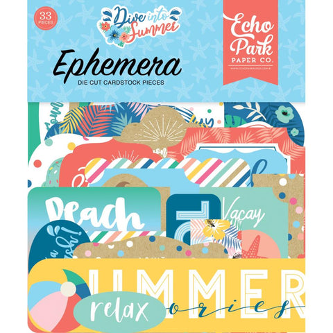 Dive Into Summer Ephemera: Icons