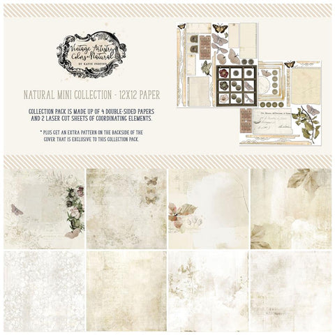 Vintage Artistry Natural 12x12 Collection Pack