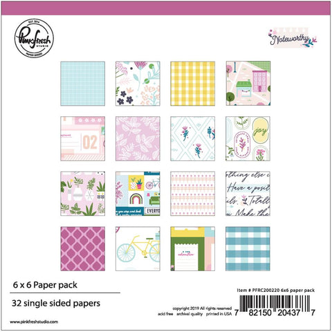 Noteworthy 6x6 Paper Pack
