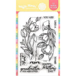 Tulips 4x6 Clear Stamps