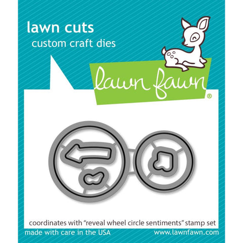 Reveal Wheel Circle Sentiments Add-on Lawn Cuts