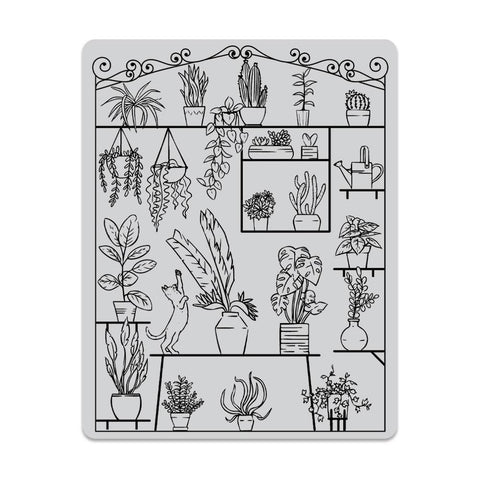 Peek-A-Boo Greenhouse Cling Stamps