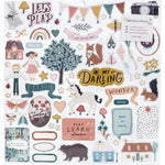 Magical Forest 12x12 Sticker Sheet
