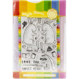 Love You Bunnies Stamp & Die Set