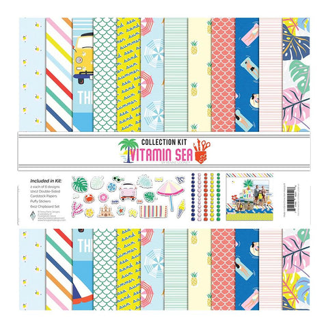 Vitamin Sea 12x12 Collection Kit