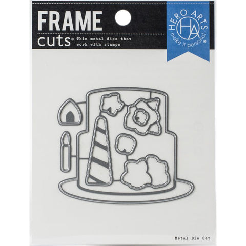 Decorate A Cake Frame Cut Dies