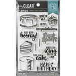 Time for Cake 4x6 Clear Stamps