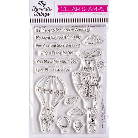 Stacey Yacula Sky High 4x6 Clear Stamps