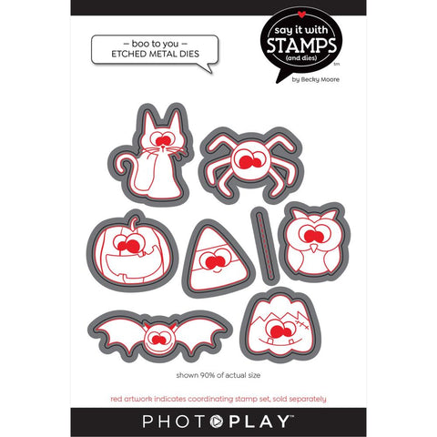 Say It With Stamps Boo To You Die Set