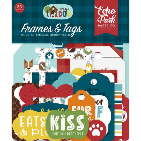 My Dog Ephemera: Frames & Tags