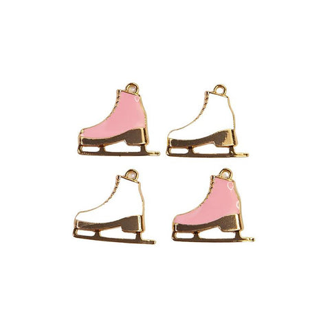 Sugar Cookie Christmas Skates Charms