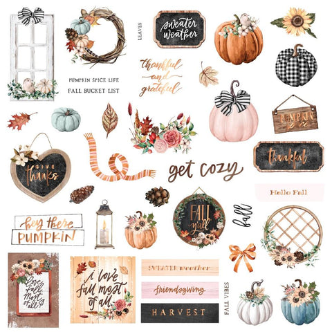 Pumpkin & Spice Fall Vibes Ephemera