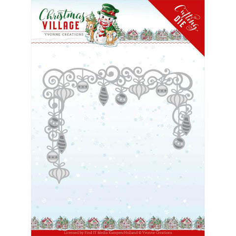 Yvonne Creations Christmas Village Christmas Baubles
