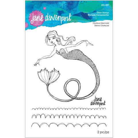 Stamp Camp Glorious Mermaid Clear Stamps