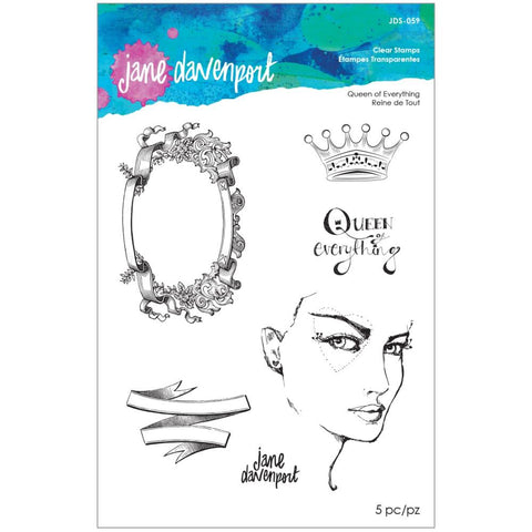 Stamp Camp Queen Of Everything Clear Stamps