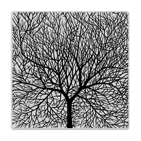 Bare Branched Tree Bold Prints 6x6 Cling Stamps