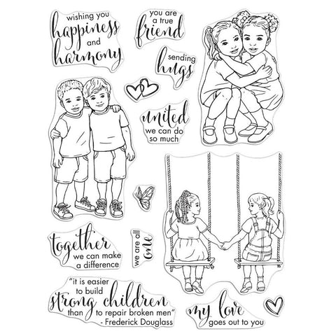 Kids United 6x8 Clear Stamps