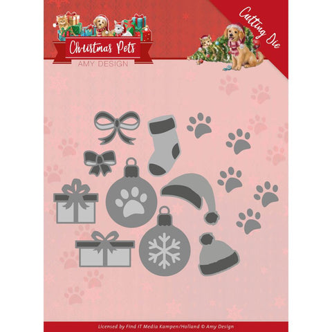 Amy Design Christmas Pets Christmas Decorations Dies