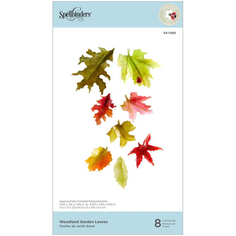 Susan's Autumn Flora Woodland Garden Leaves Etched Dies