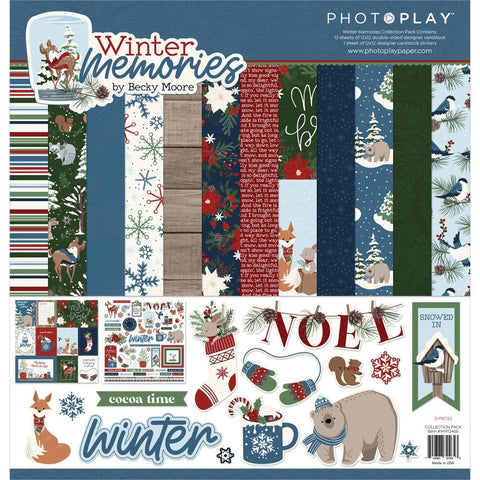Winter Memories 12x12 Collection Pack