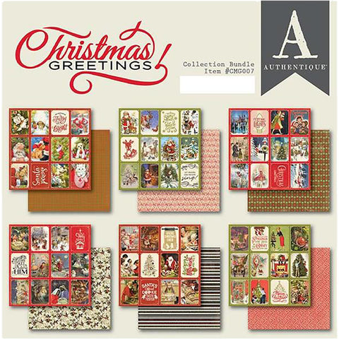 Christmas Greetings 6x6 Paper Pack