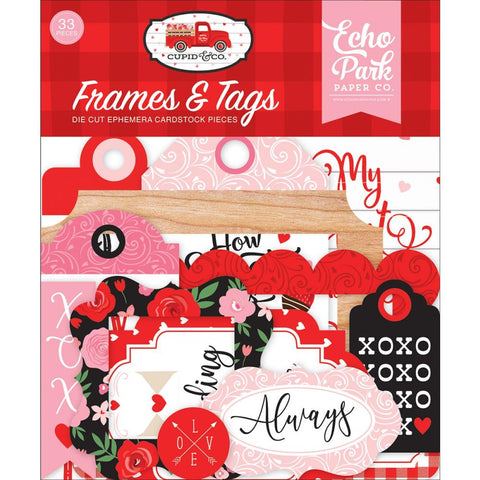Cupid & Co. Ephemera: Frames & Tags