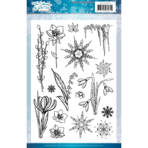 Jeanine's Art The Colours Of Winter Clear Stamp Set