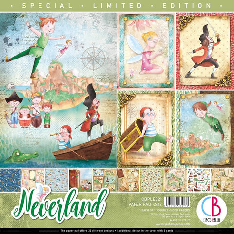 Neverland 12x12 Paper Pad