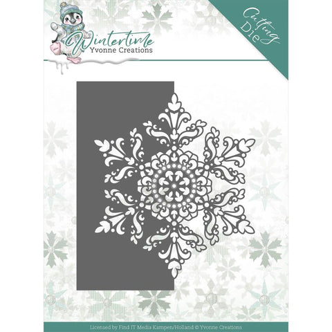 Yvonne Creations Winter Time Dies: Snowflake Border