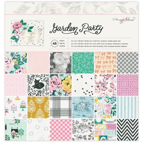 Garden Party 12x12 Paper Pad