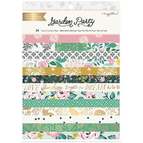 Garden Party 6x8 Paper Pad