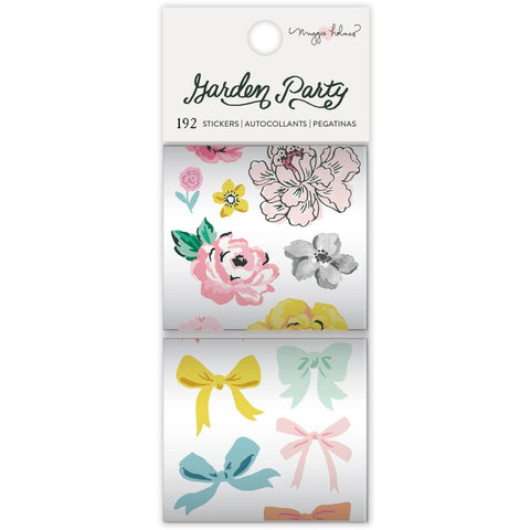 Garden Party Sticker Rolls