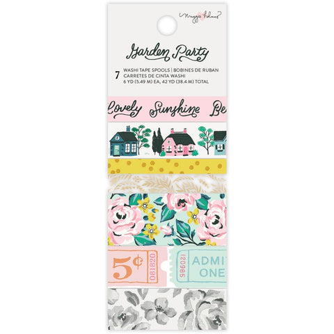 Garden Party Washi Tape Set