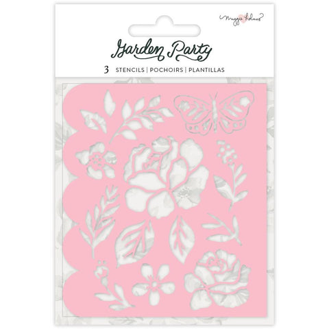 Garden Party Stencils: Flower Builder