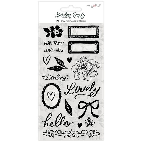 Garden Party Clear Stamp Set