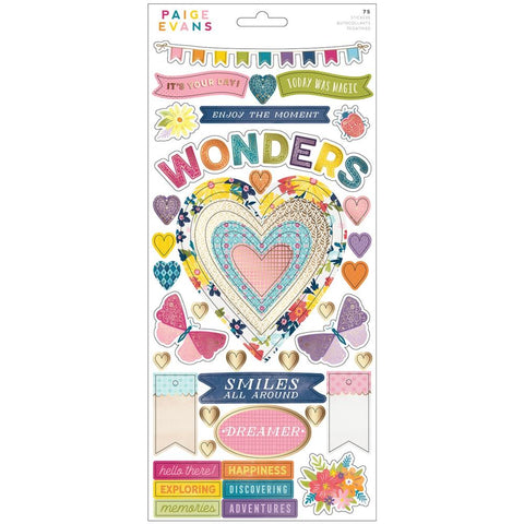 Wonders Cardstock Stickers