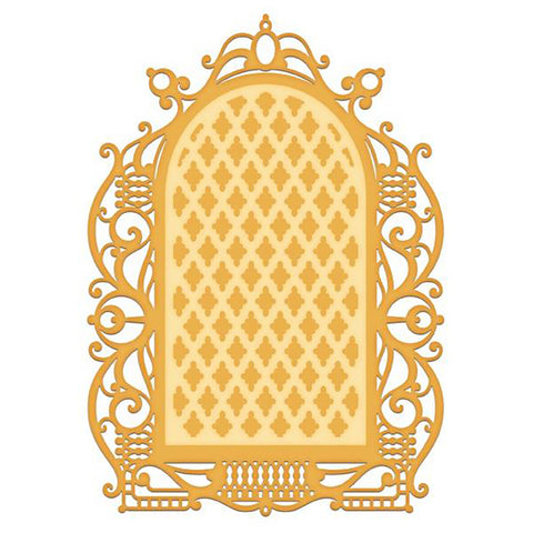 Gateway Cut & Emboss Dies: Regal Lattice